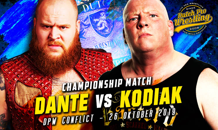 DPW CON 2019 Dante vs Kodiak