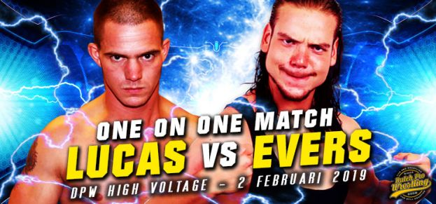 HIGH VOLTAGE 2019 - SEAN LUCAS VERSUS JOHNNY EVERS