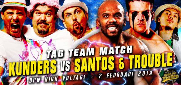 HIGH VOLTAGE 2019 - LONG & THICK VERSUS SANTOS & TROUBLE MAKER