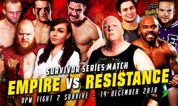 FIGHT 2 SURVIVE 2019 - KODIAK'S RESISTANCE VERSUS EVA'S EMPIRE – TAG TEAM ELIMINATION MATCH