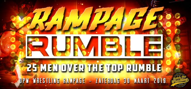 WRESTLING RAMPAGE 2019 - THE RAMPAGE RUMBLE – MAIN EVENT