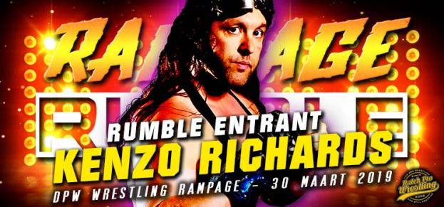RAMPAGE RUMBLE ENTRANT # 11: KENZO RICHARDS IS READY TO RUMBLE!
