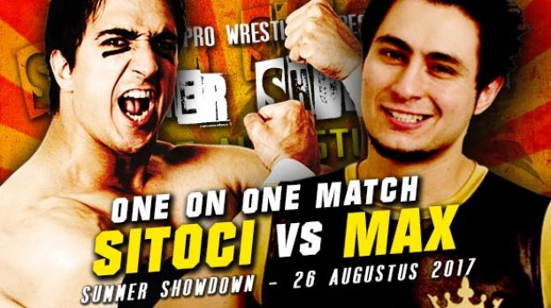 SUMMER SHOWDOWN 2017 - MAX DAMON VERSUS EMIL SITOCI - SPECIAL ATTRACTION MATCH!