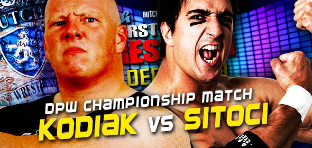 DUTCH SUPERSTARS OF WRESTLING - MARK KODIAK VERSUS EMIL SITOCI
