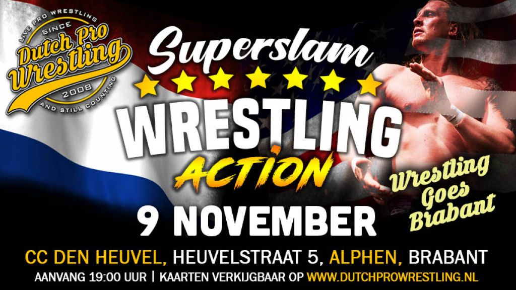 DPW presents SUPERSLAM WRESTLING ACTION