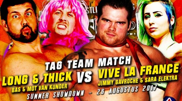 SUMMER SHOWDOWN 2017 - LONG & THICK VERSUS GAVROCHE/ELEKTRA – TAG TEAM MATCH