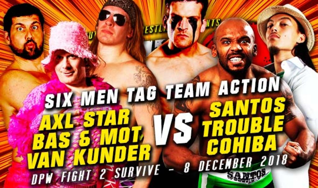 FIGHT 2 SURVIVE 2018 - SIX MEN TAG TEAM ACTION