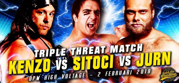 TRIPLE THREAT MATCH: KENZO vs JURN vs SITOCI!