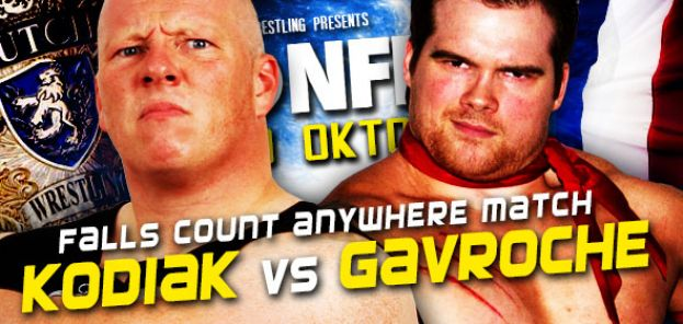DPW CONFLICT - MARK KODIAK VERSUS JIMMY GAVROCHE - FALLS COUNT ANYWHERE