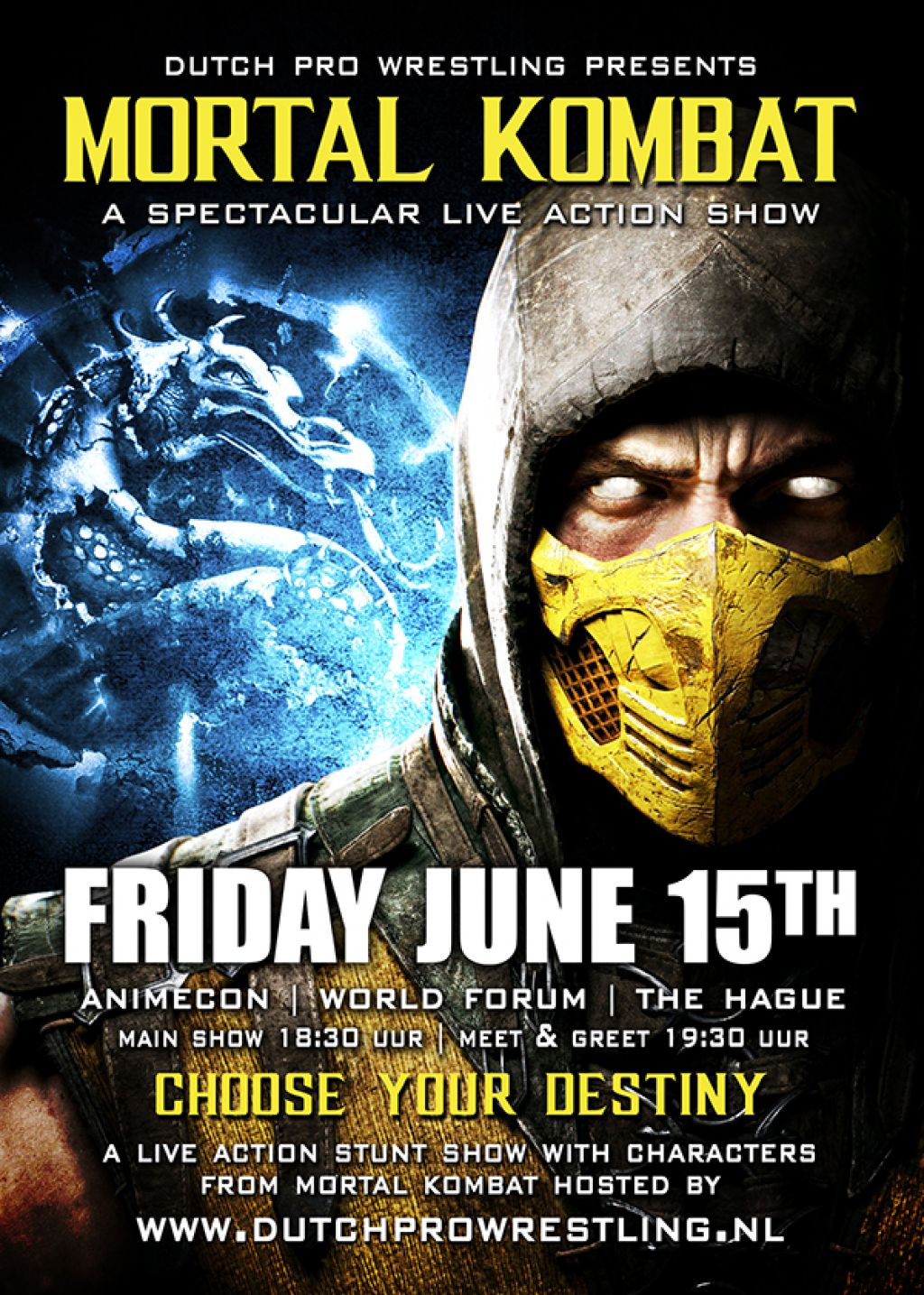 DPW presents Mortal Kombat Live,