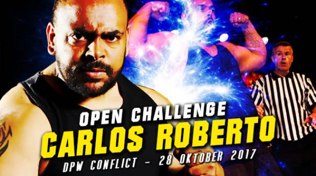 DPW CONFLICT 2017 - CARLOS ROBERTO CHALLENGES THE LOCKER ROOM!