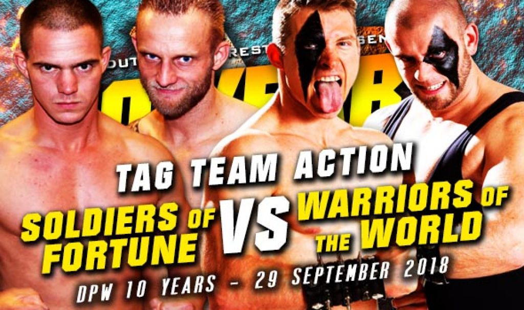 DPW X – SOLDIERS OF FORTUNE VERSUS WARRIORS OF THE WORLD – TAG TEAM MATCH: