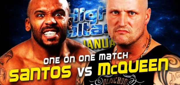 HIGH VOLTAGE 2017 - SANTOS VERSUS ANGUS MCQUEEN