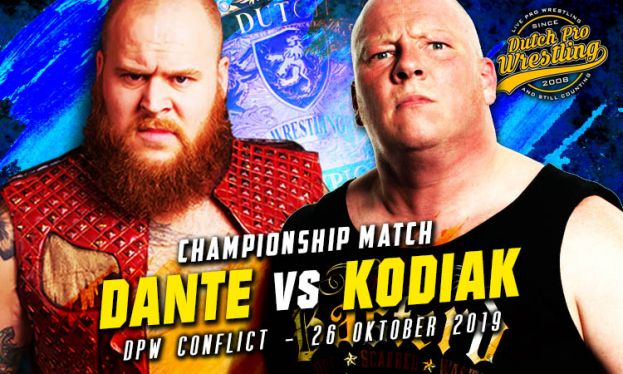 DPW CONFLICT - MICHAEL DANTE VERSUS MARK KODIAK – TITLE MATCH