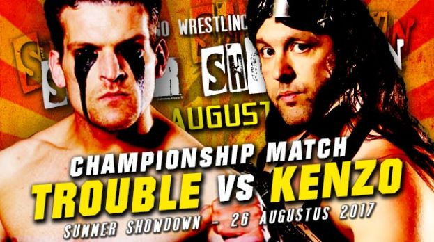 SUMMER SHOWDOWN 2017 - TROUBLE MAKER (CHAMPION) VERSUS KENZO RICHARDS - CHAMPIONSHIP MATCH!