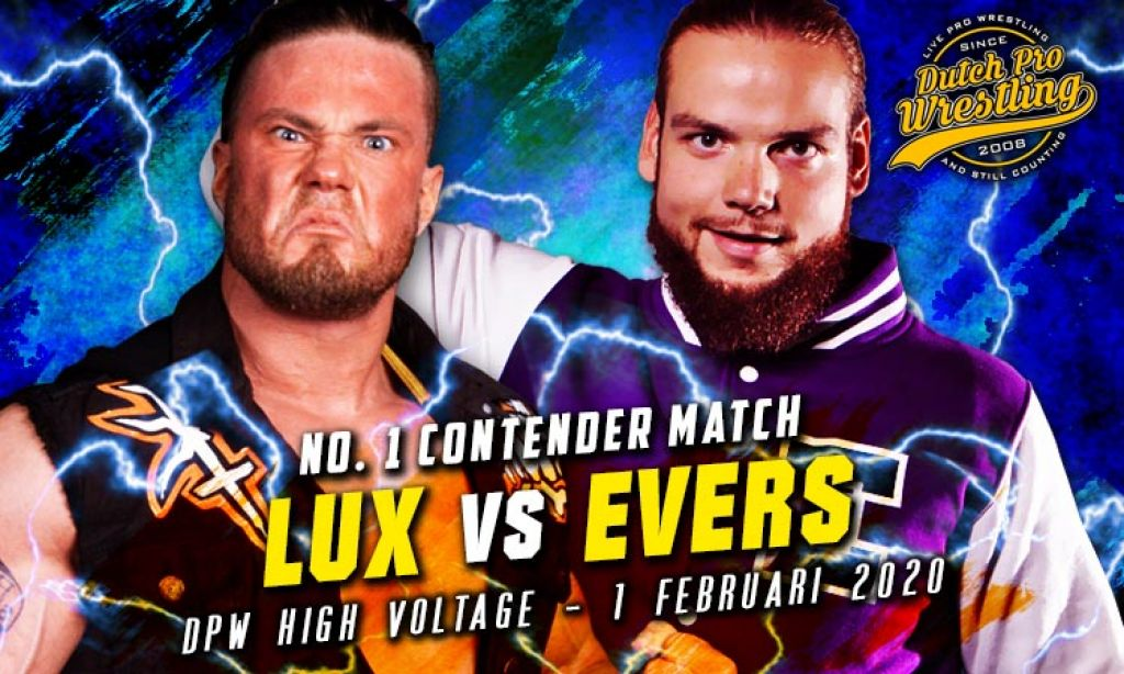 HIGH VOLTAGE 2020 - NICK LUX VERSUS JOHNNY EVERS - #1 CONTENDERSHIP