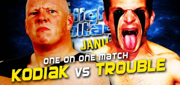 HIGH VOLTAGE 2017 - MARK KODIAK VERSUS THE TROUBLE MAKER – TITLE MATCH